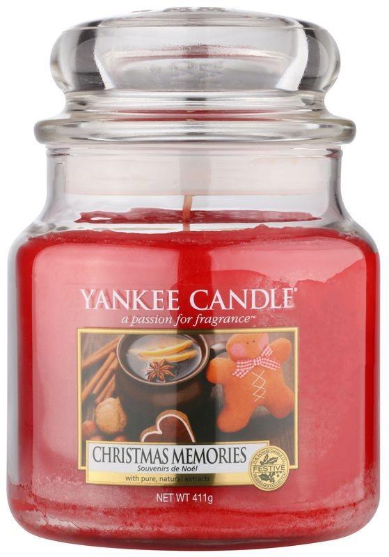 Yankee Candle Christmas Memories Mirisna svijeća 411 g Classic srednja