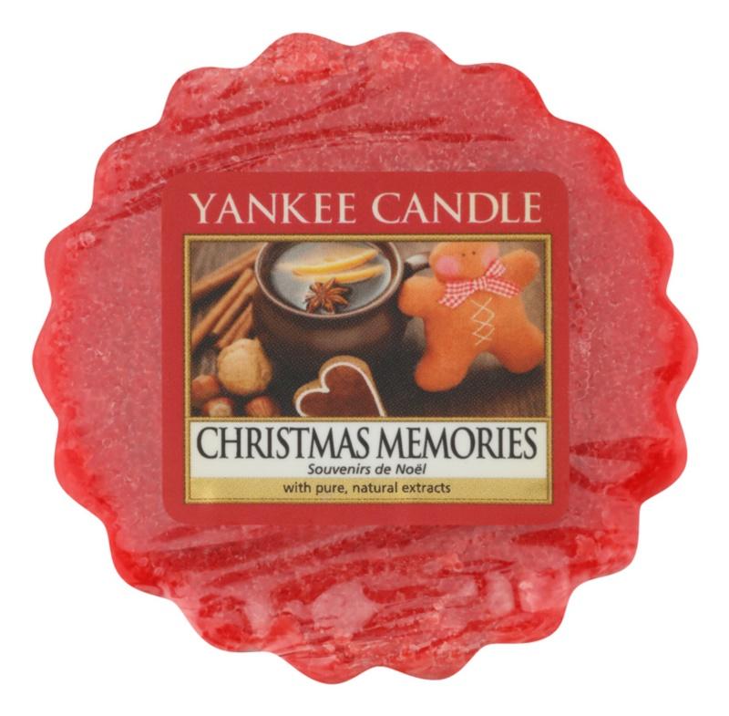Yankee Candle Christmas Memories cera per lampada aromatica 22 g