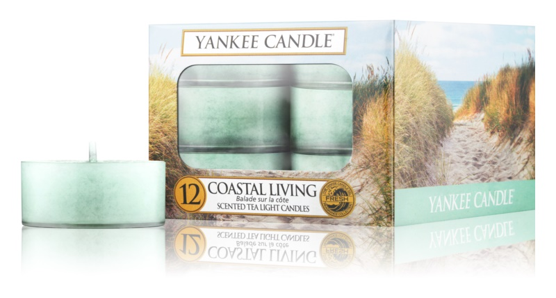 Yankee Candle Coastal Living čajová svíčka 12 x 9,8 g
