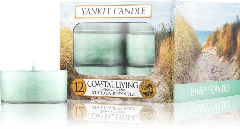 Yankee Candle Coastal Living čajová sviečka 12 x 9,8 g
