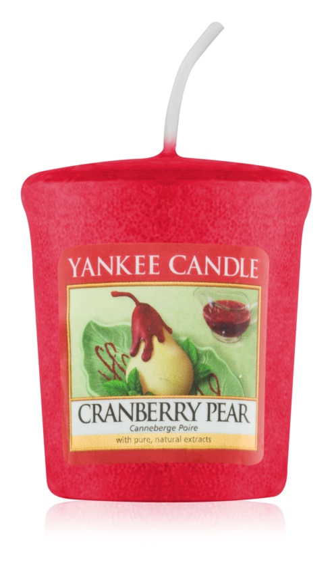 Yankee Candle Cranberry Pear votívna sviečka 49 g