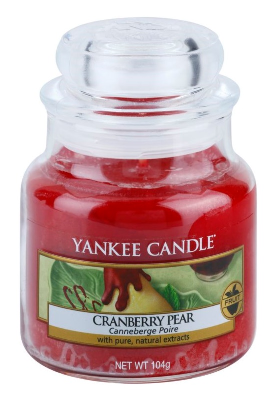 Yankee Candle Cranberry Pear świeczka zapachowa  104 g Classic mała