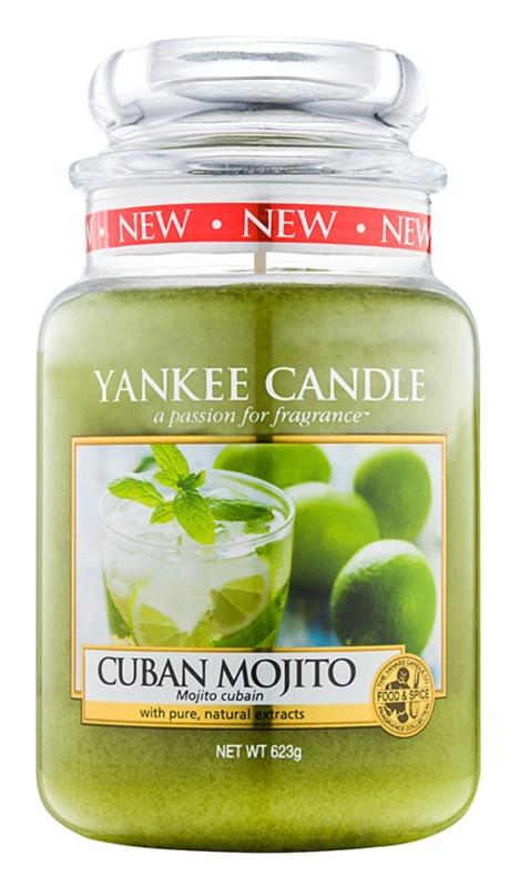 Yankee Candle Cuban Mojito vonná svíčka 623 g Classic velká