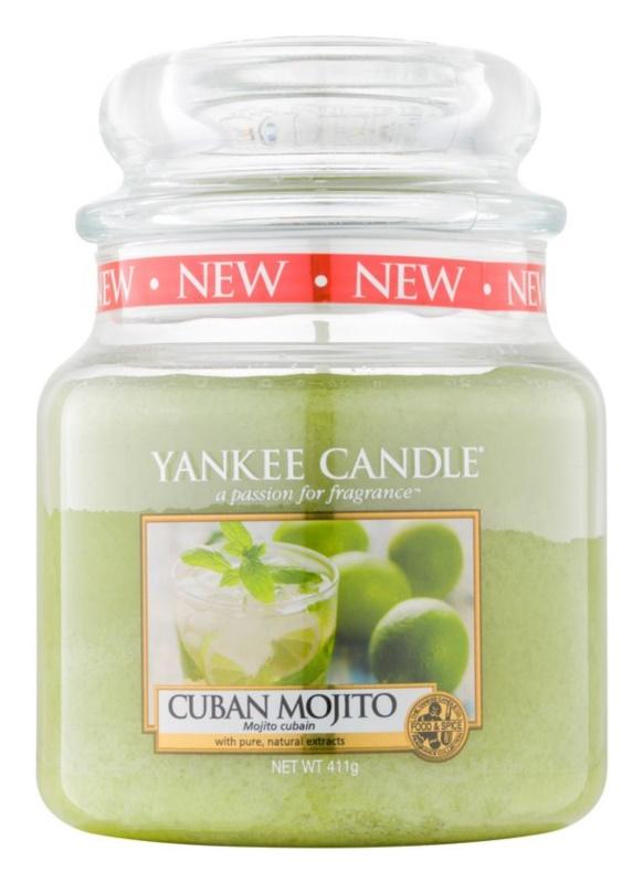 Yankee Candle Cuban Mojito vonná svíčka 411 g Classic střední