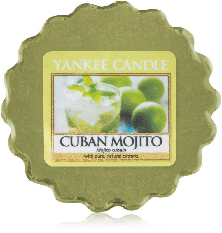 Yankee Candle Cuban Mojito ceară pentru aromatizator 22 g