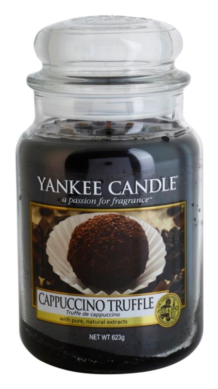 Yankee Candle Cappuccino Truffle vonná svíčka 623 g Classic velká