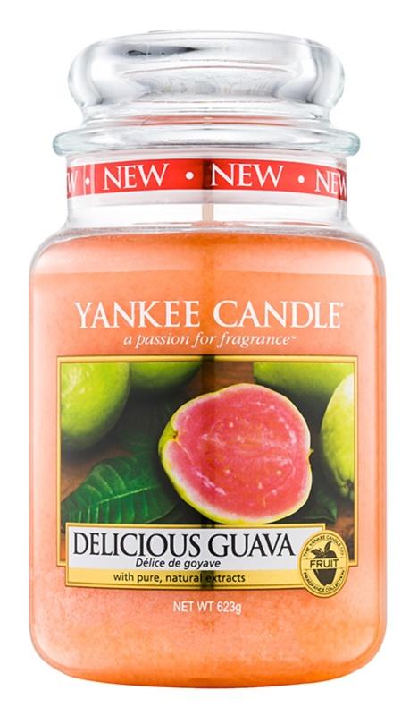Yankee Candle Delicious Guava świeczka zapachowa  623 g Classic duża