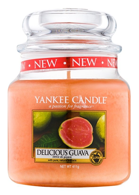 Yankee Candle Delicious Guava lumânare parfumată  104 g Clasic mini