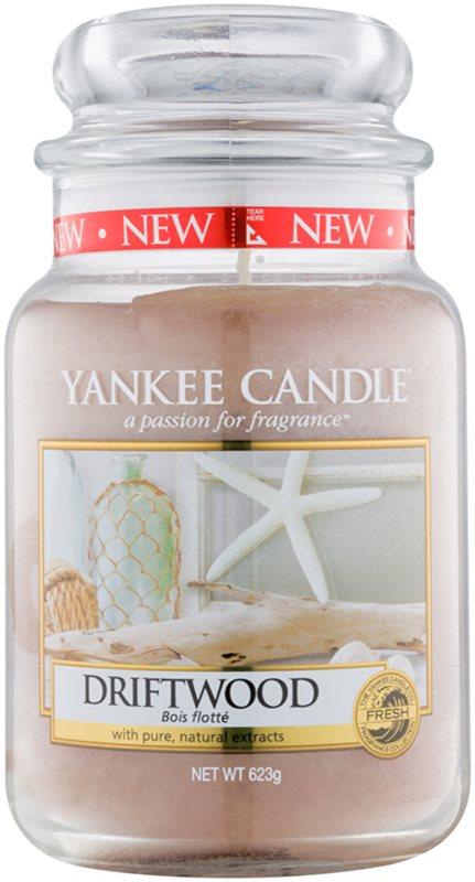 Yankee Candle Driftwood illatos gyertya  623 g Classic nagy méret