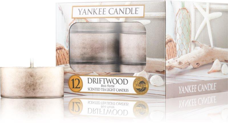 Yankee Candle Driftwood świeczka typu tealight 12 x 9,8 g