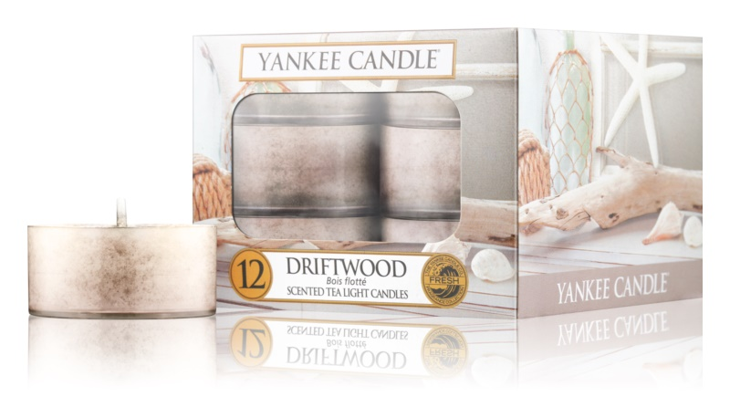 Yankee Candle Driftwood teamécses 12 x 9,8 g