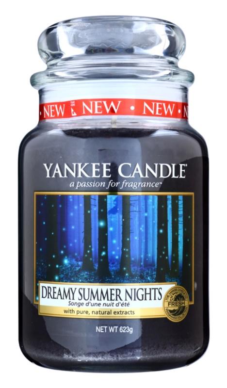 Yankee Candle Dreamy Summer Nights candela profumata 623 g Classic grande