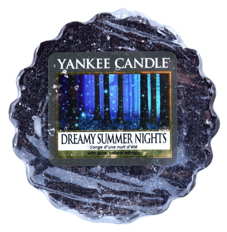 Yankee Candle Dreamy Summer Nights cera per lampada aromatica 22 g
