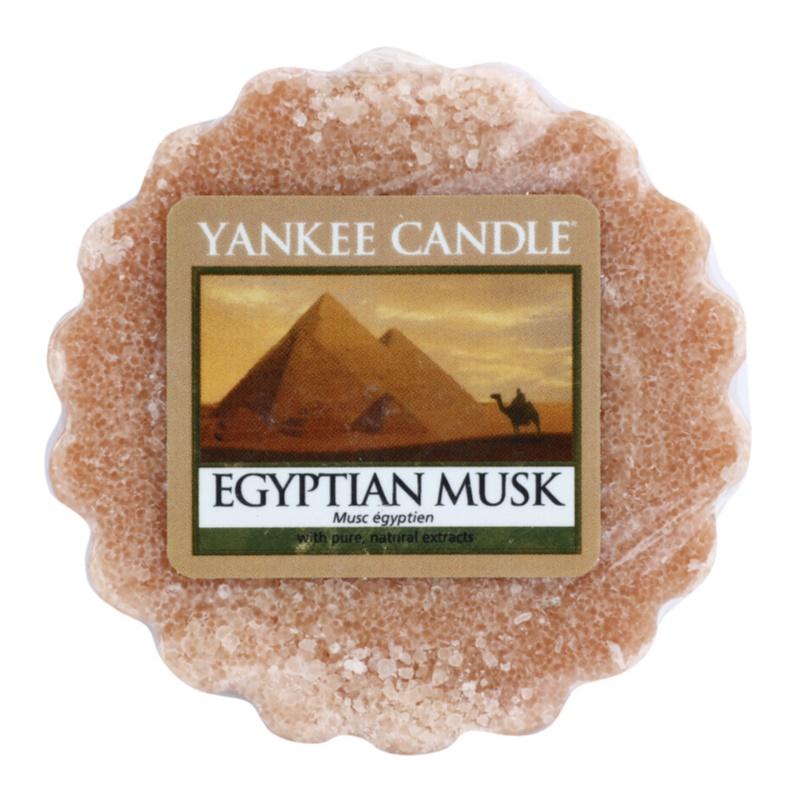 Yankee Candle Egyptian Musk illatos viasz aromalámpába 22 g