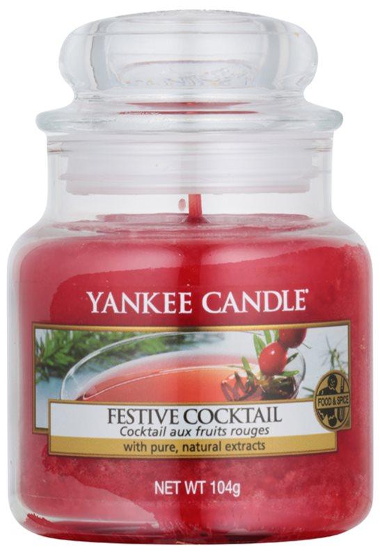 Yankee Candle Festive Cocktail vonná svíčka 104 g Classic malá