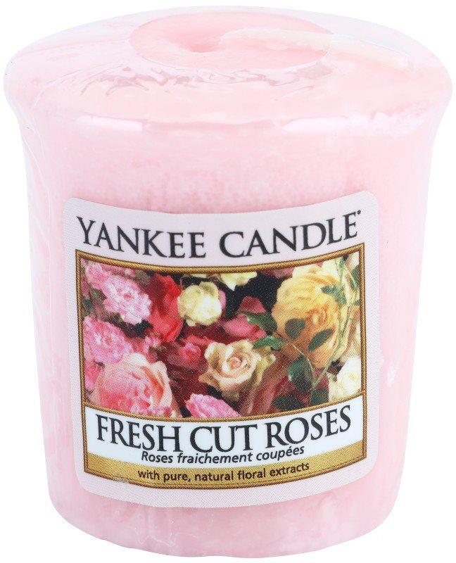 Yankee Candle Fresh Cut Roses votivní svíčka 49 g