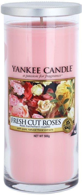 Yankee Candle Fresh Cut Roses świeczka zapachowa  566 g Décor duża