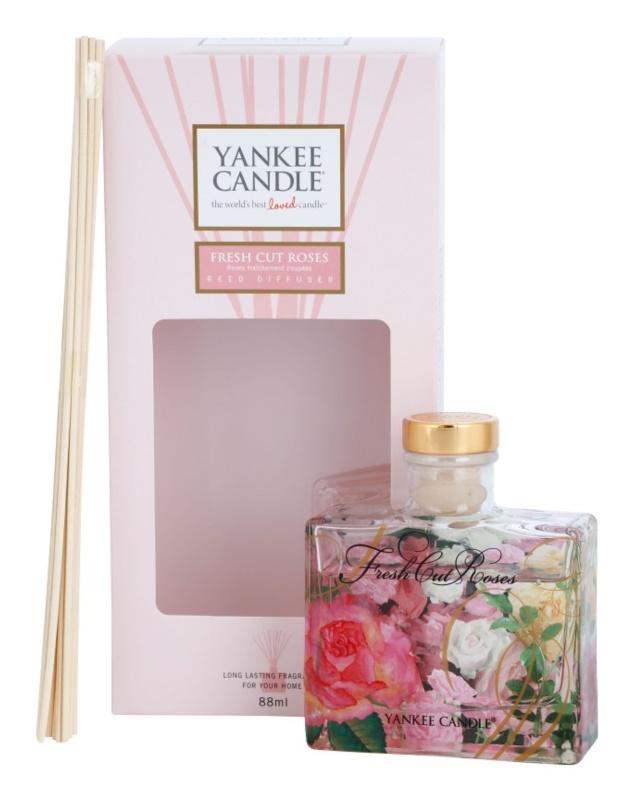 Yankee Candle Fresh Cut Roses aroma diffúzor töltelékkel 88 ml Signature