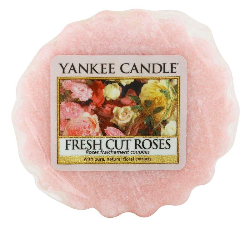 Yankee Candle Fresh Cut Roses cera per lampada aromatica 22 g