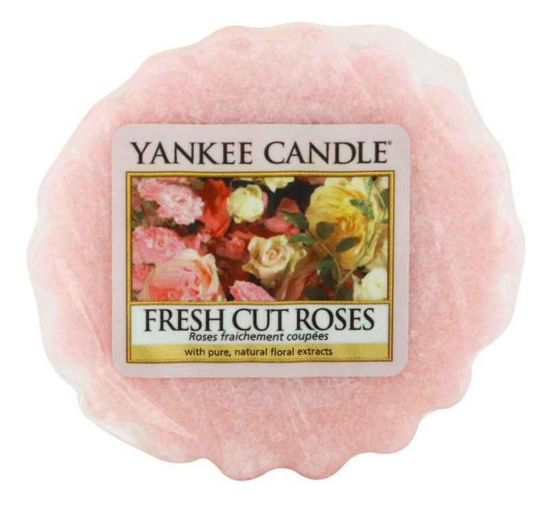 Yankee Candle Fresh Cut Roses Wax Melt 22 g
