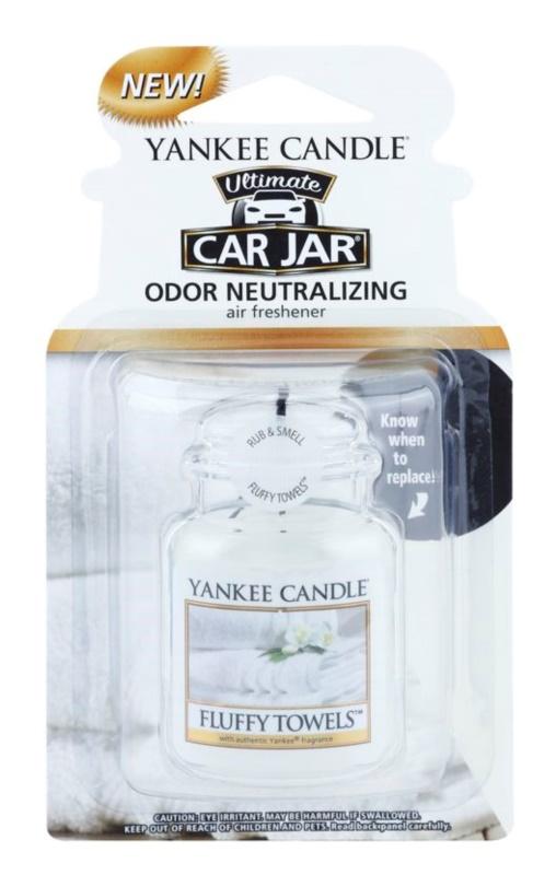 Yankee Candle Fluffy Towels parfum pentru masina   agățat