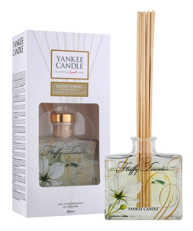 Yankee Candle Fluffy Towels Aroma Diffuser met vulling 88 ml Signature