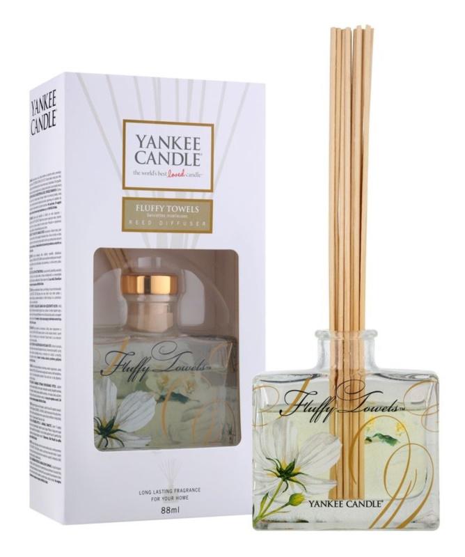 Yankee Candle Fluffy Towels aróma difúzor s náplňou 88 ml Signature