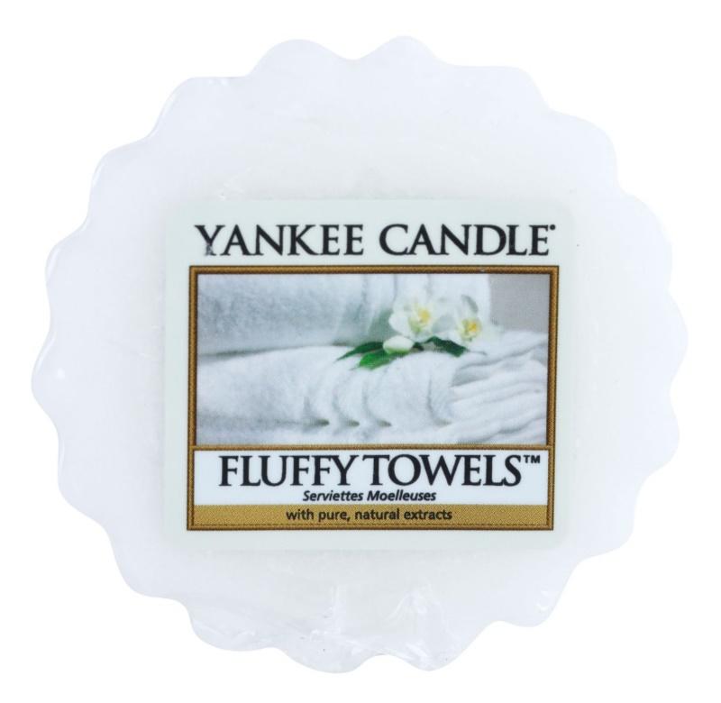 Yankee Candle Fluffy Towels cera derretida aromatizante 22 g
