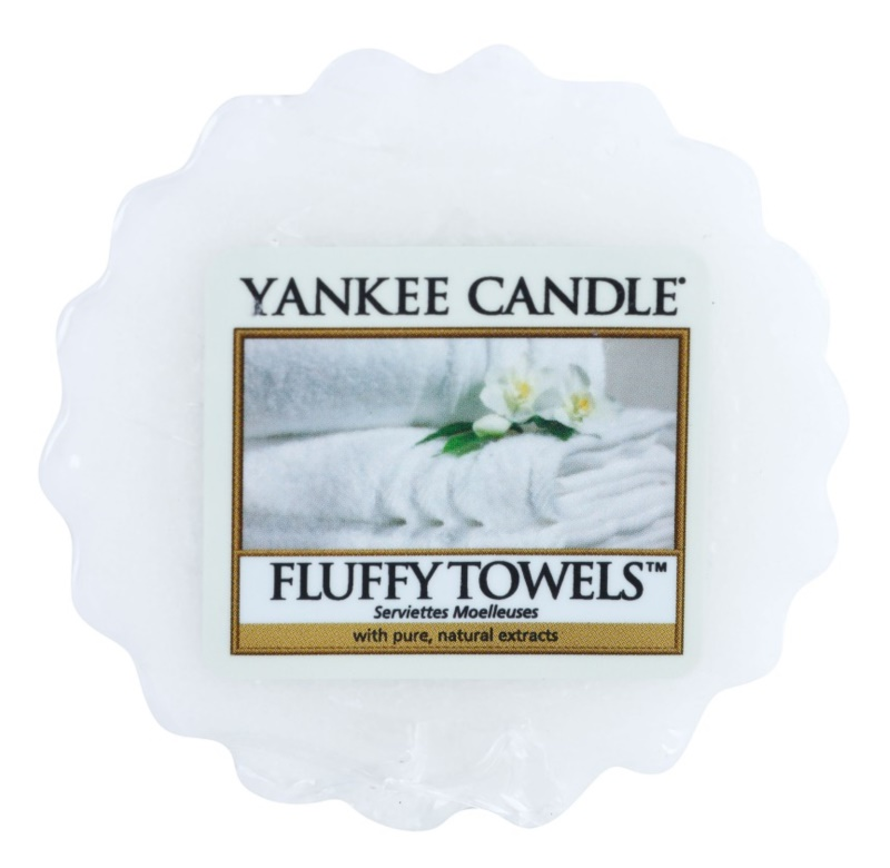 Yankee Candle Fluffy Towels wosk zapachowy 22 g