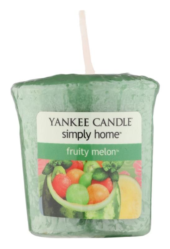 Yankee Candle Fruity Melon viaszos gyertya 49 g