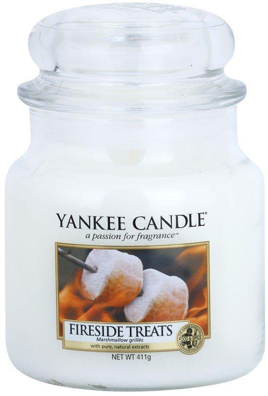 Yankee Candle Fireside Treats vonná svíčka 411 g Classic střední