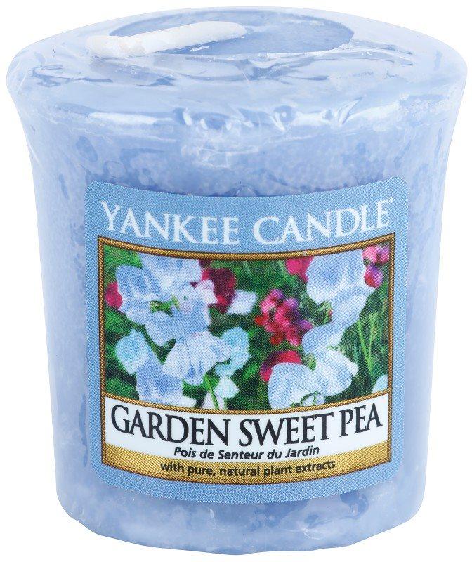 Yankee Candle Garden Sweet Pea votivní svíčka 49 g