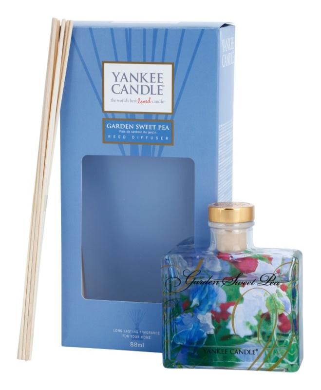 Yankee Candle Garden Sweet Pea Difusor de aromas con esencia 88 ml Signature