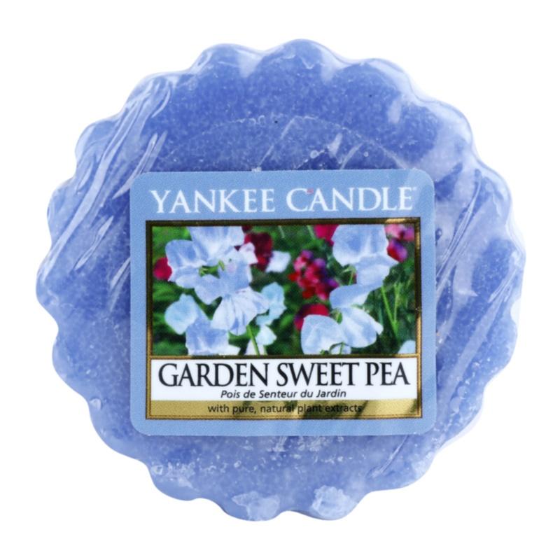 Yankee Candle Garden Sweet Pea Wachs für Aromalampen 22 g