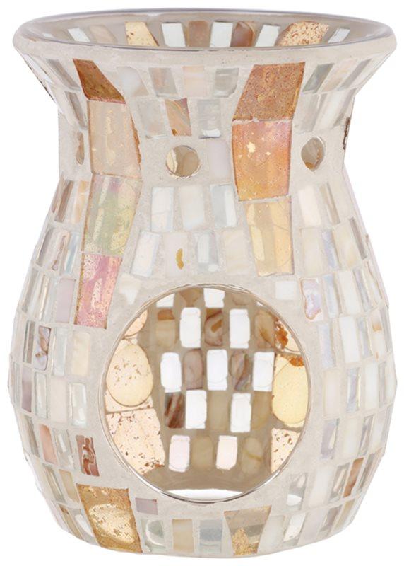 Yankee Candle Gold Wave Mosaic Szklana lampa aromatyczna