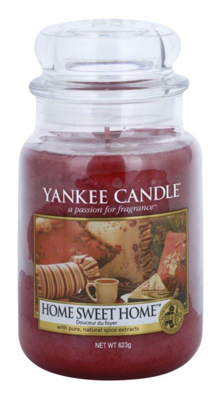 Yankee Candle Home Sweet Home Αρωματικό κερί 623 γρ Κλασικό μεγάλο