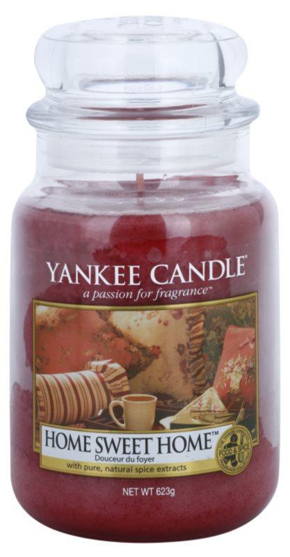 Yankee Candle Home Sweet Home świeczka zapachowa  623 g Classic duża