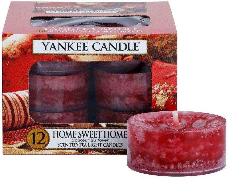 Yankee Candle Home Sweet Home čajna sveča 12 x 9,8 g