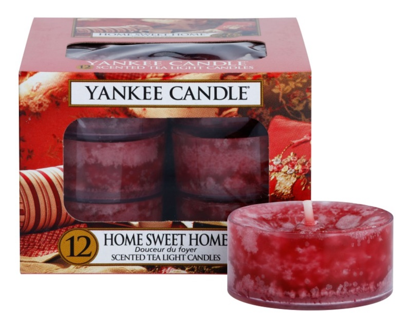 Yankee Candle Home Sweet Home teamécses 12 x 9,8 g