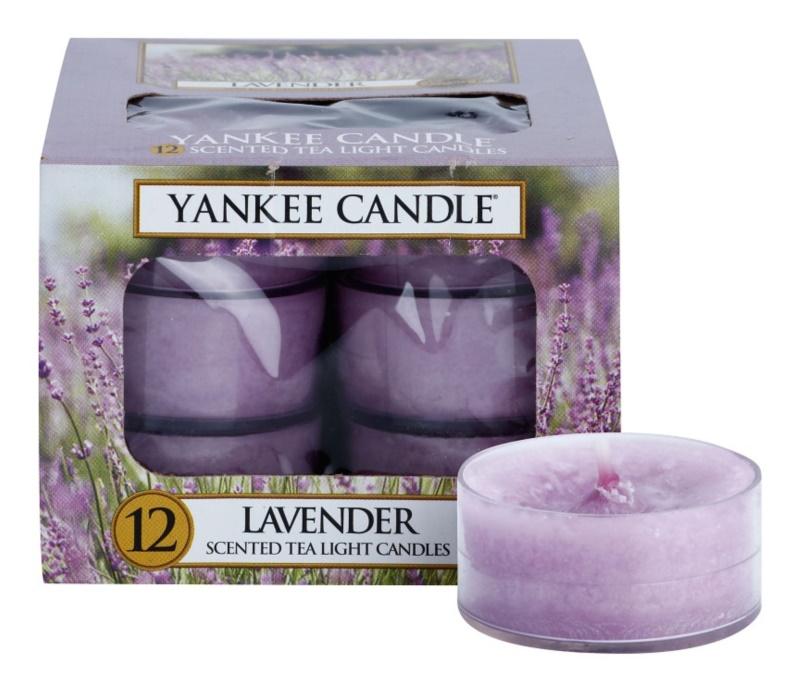 Yankee Candle Lavender świeczka typu tealight 12 x 9,8 g