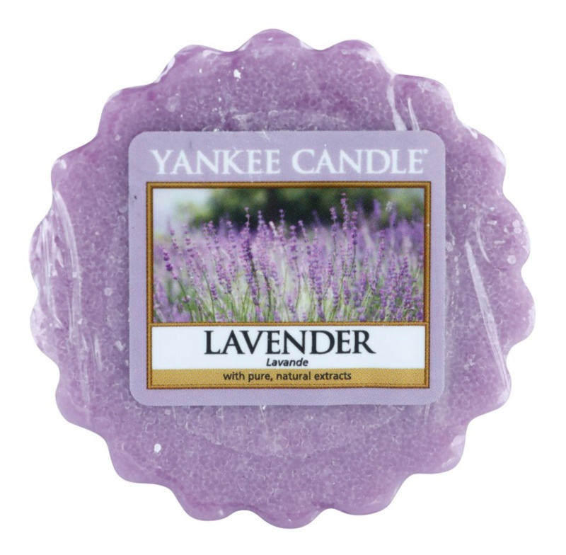Yankee Candle Lavender cera derretida aromatizante 22 g