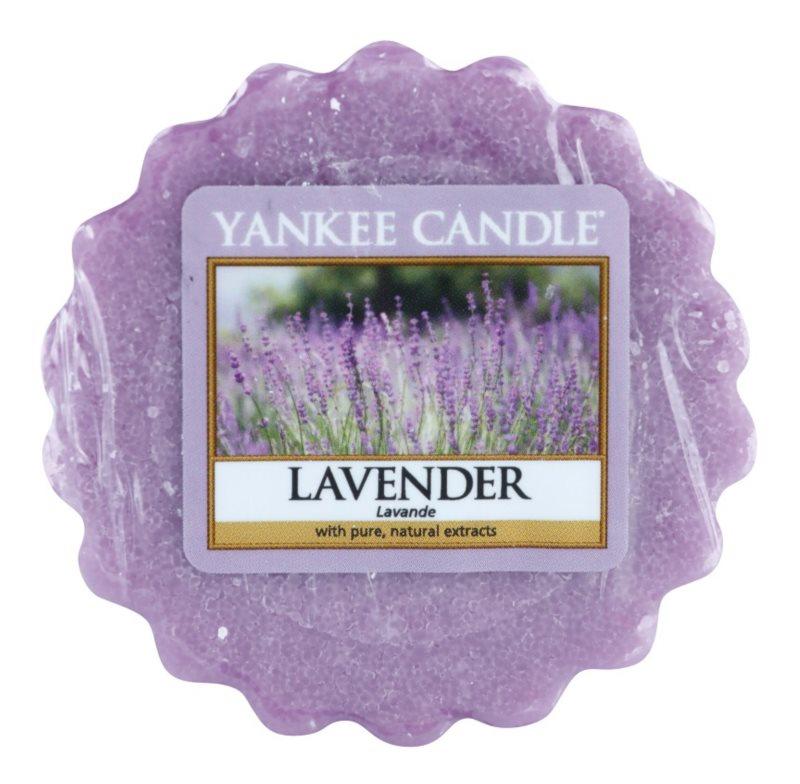 Yankee Candle Lavender cera para lámparas aromáticas 22 g