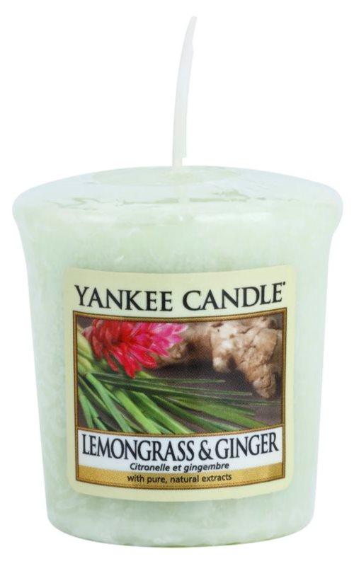 Yankee Candle Lemongrass & Ginger candela votiva 49 g
