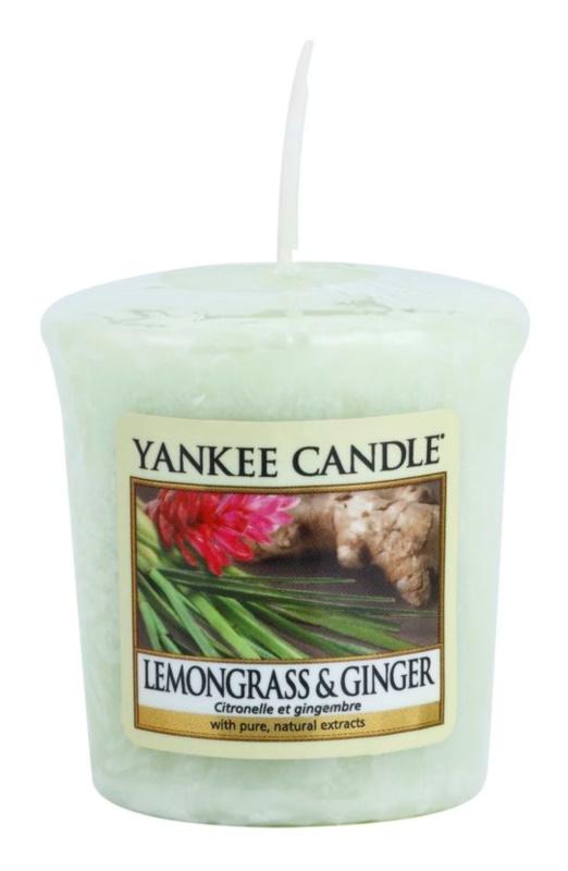 Yankee Candle Lemongrass & Ginger vela votiva 49 g