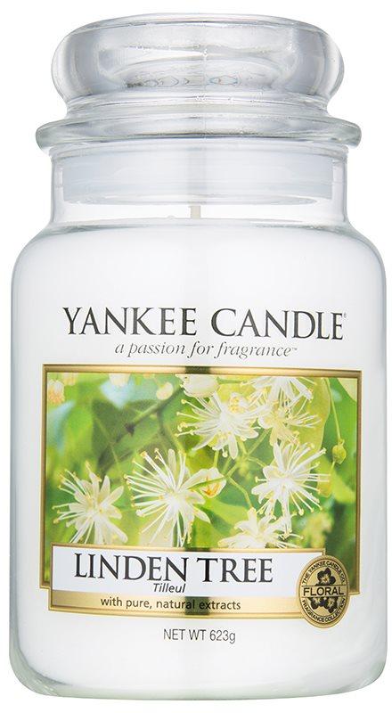 Yankee Candle Linden Tree candela profumata 623 g Classic grande