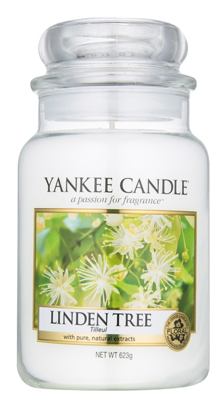 Yankee Candle Linden Tree vela perfumado 623 g Classic grande