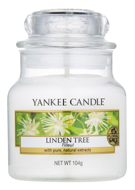 Yankee Candle Linden Tree candela profumata 104 g Classic piccola