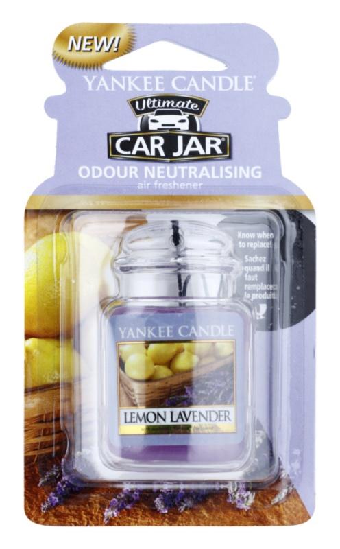 Yankee Candle Lemon Lavender vôňa do auta   závesná