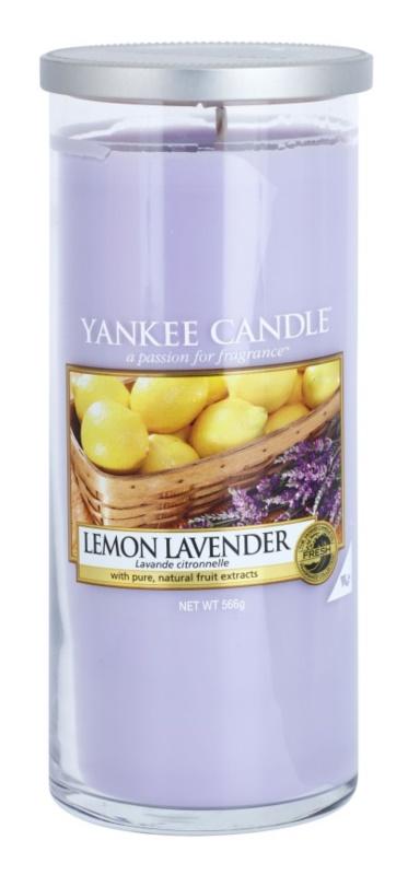 Yankee Candle Lemon Lavender bougie parfumée 566 g Décor grande