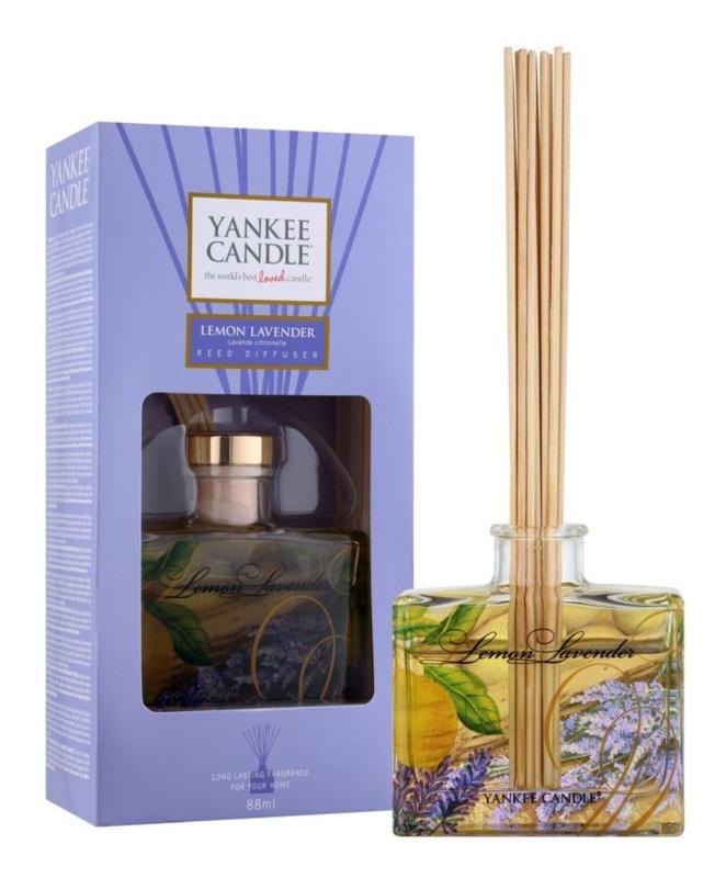 Yankee Candle Lemon Lavender aroma diffúzor töltelékkel 88 ml Signature